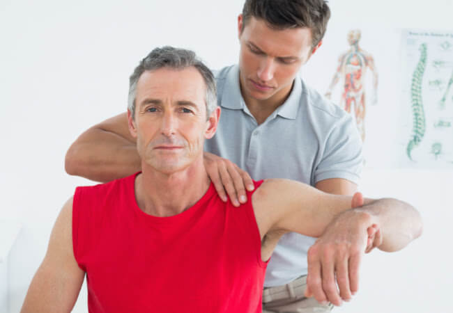 shoulder pain relief - rebound physical therapy